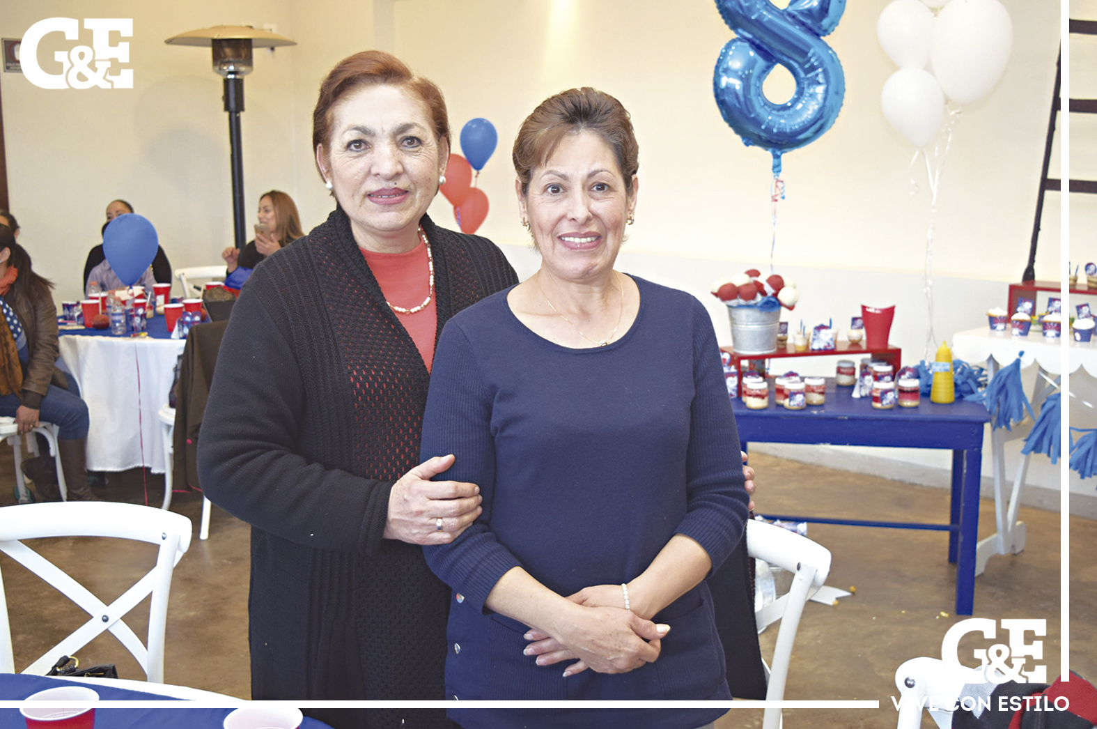 Gloria Escobedo y Bertha Haro