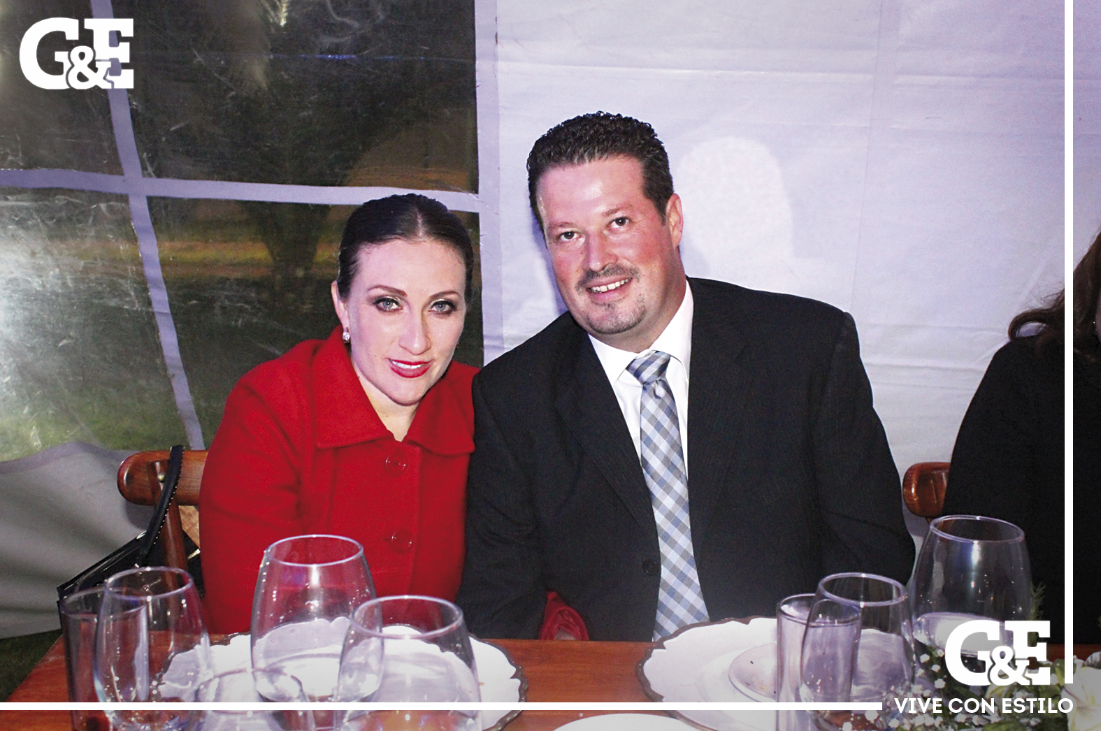 Nancy Martínez y Hugo Díaz.